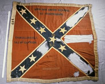 30th NC Battle Flag